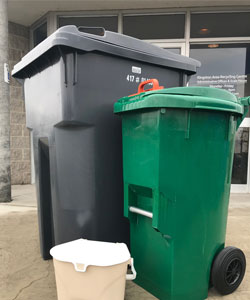 Garbage & Green Bin containers