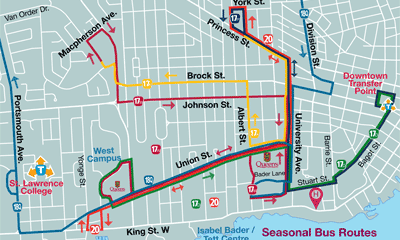 Kingston Transit Map Transit Schedules & Maps   City of Kingston Kingston Transit Map