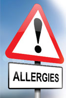 Allergies Sign