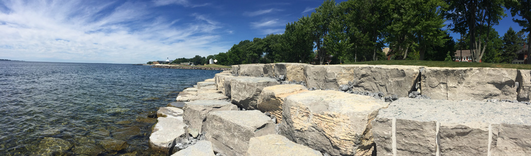 Renovated Breakwater Park