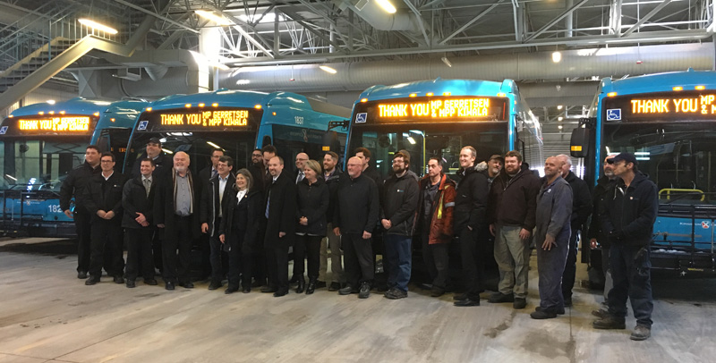 Kingston Transit Employees & Dignitaries
