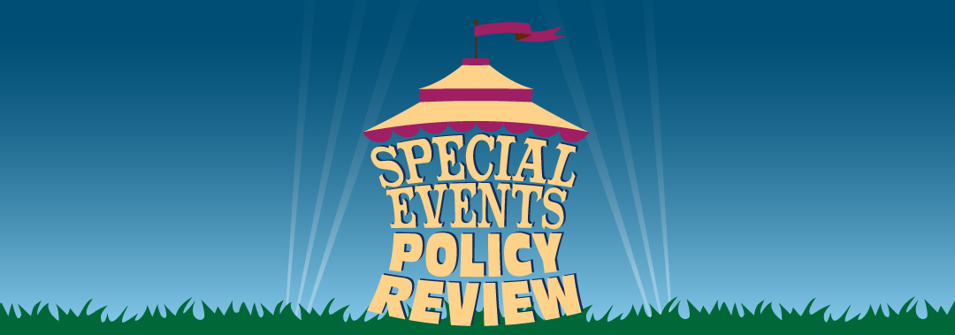 Special Events Policy