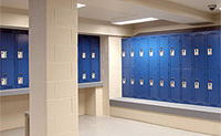 Market Square locker room