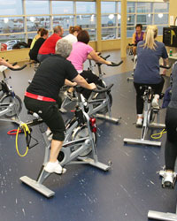 Fitness Centre spin class