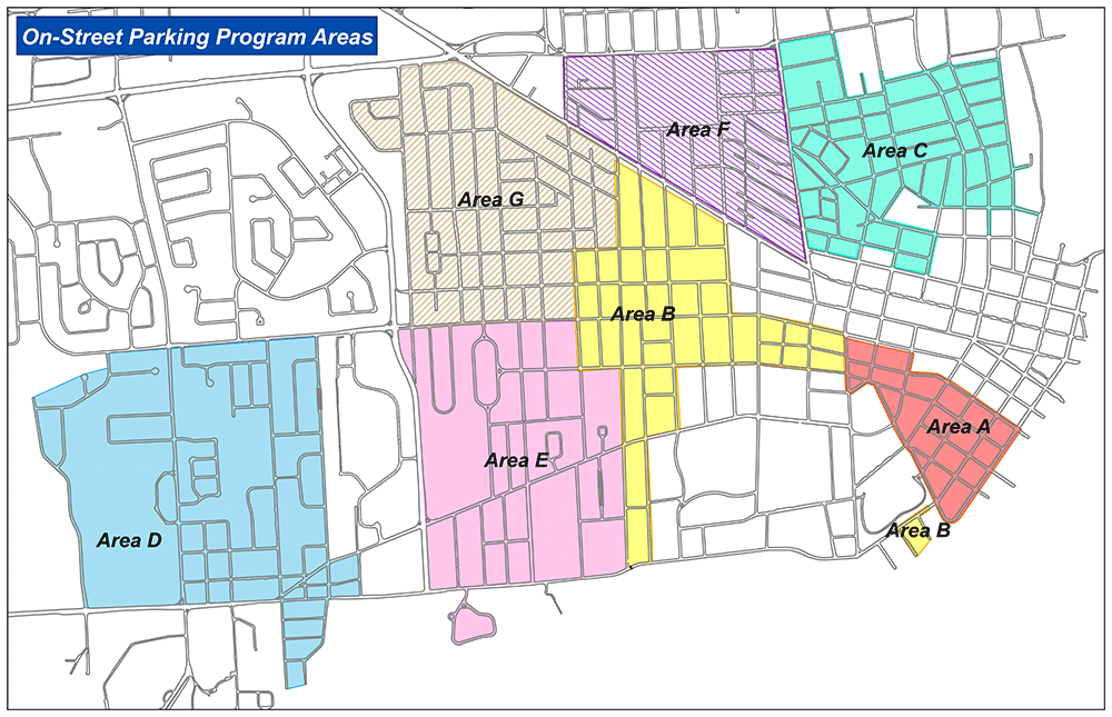 Proposed Future Parking Permit Map