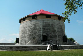 The Murney Tower in Macdonald Park is one of four Martello Towers in Kingston