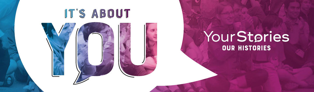 Your stories project banner