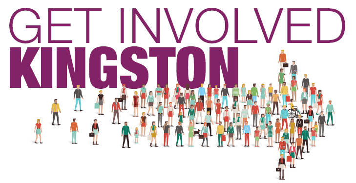 Get Involved Kingston banner