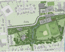 Shannon Park Redevelopment Project detailed map