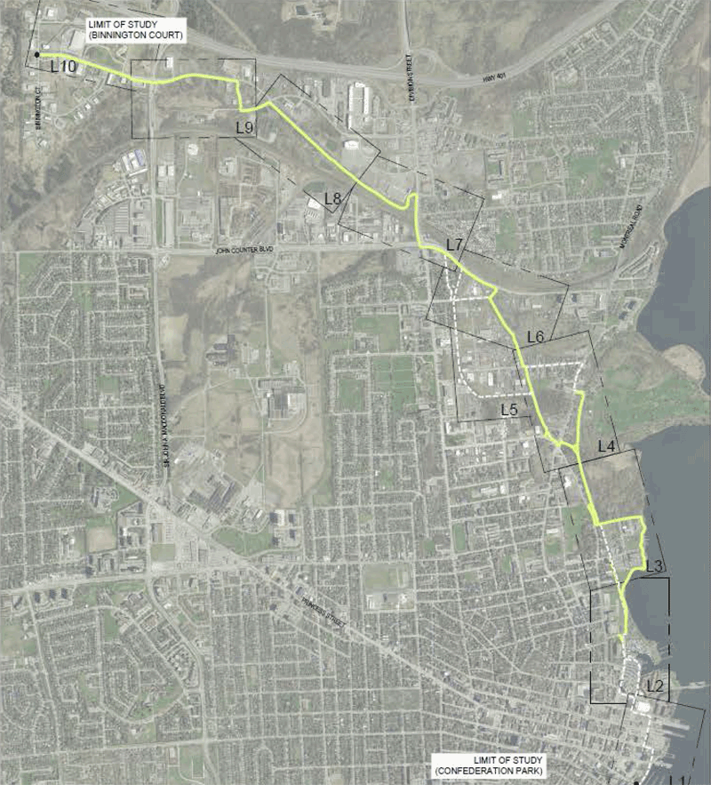 Proposed trail map
