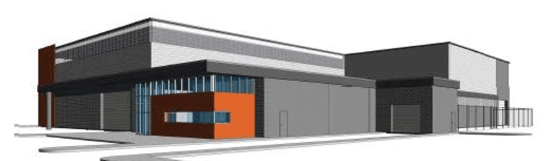 Fleet garage rendering
