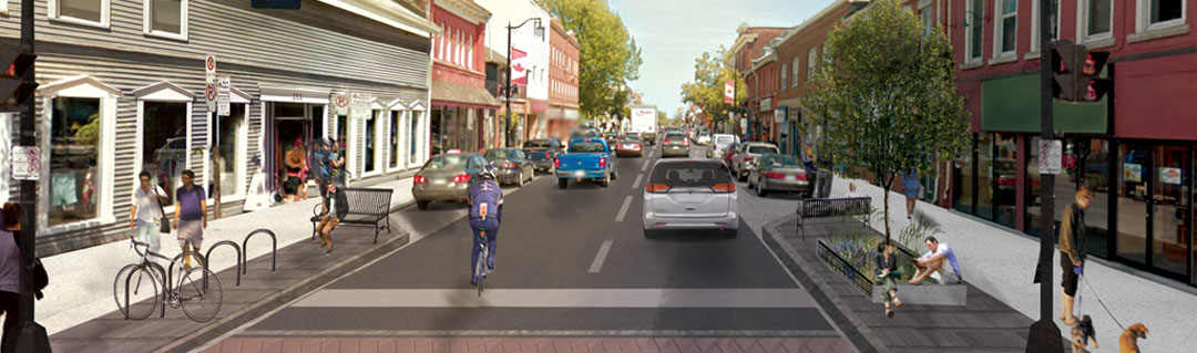 Reconstructed Princess Street Rendering