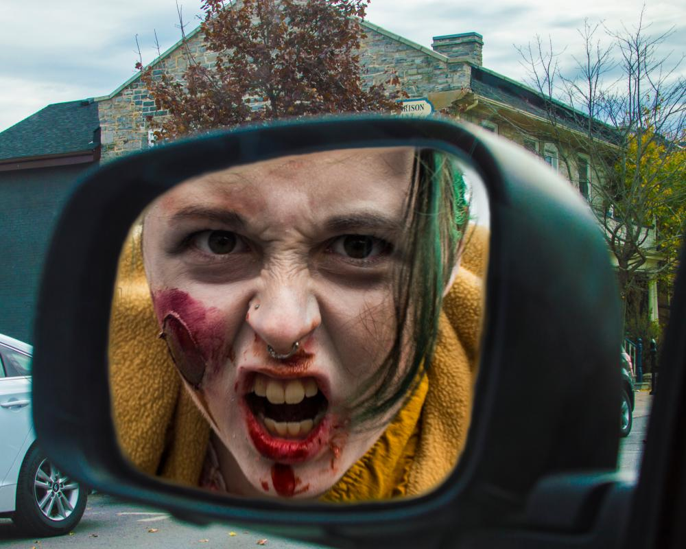18546210_1492391265183_Rear View Zombie - This was captured while parked on Barrie St. watching the Zombie Walk.