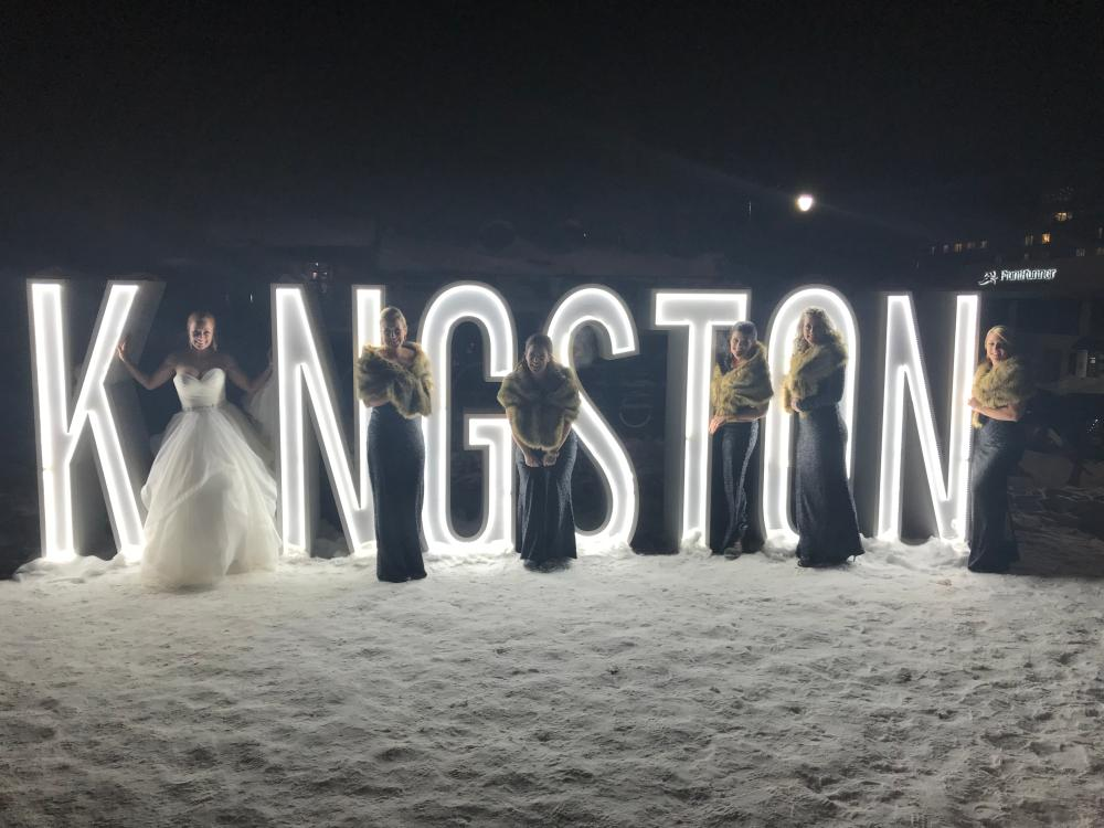 23366575_1515070659689_NYE Wedding - Jacqueline & her girls at the Kingston sign just prior to her NYE marriage to Patrick Severin