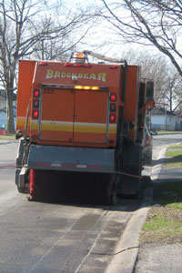 City Street Sweepers at work