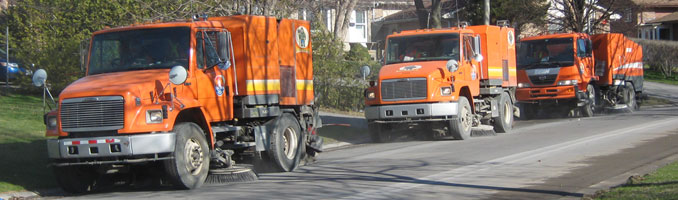 Street Sweepers in action