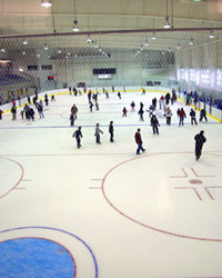 Skaters at the INVISTA Centre