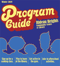 Rideau Heights Community Centre Flyer