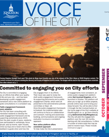 Voice of the City - Fall 2017 issue