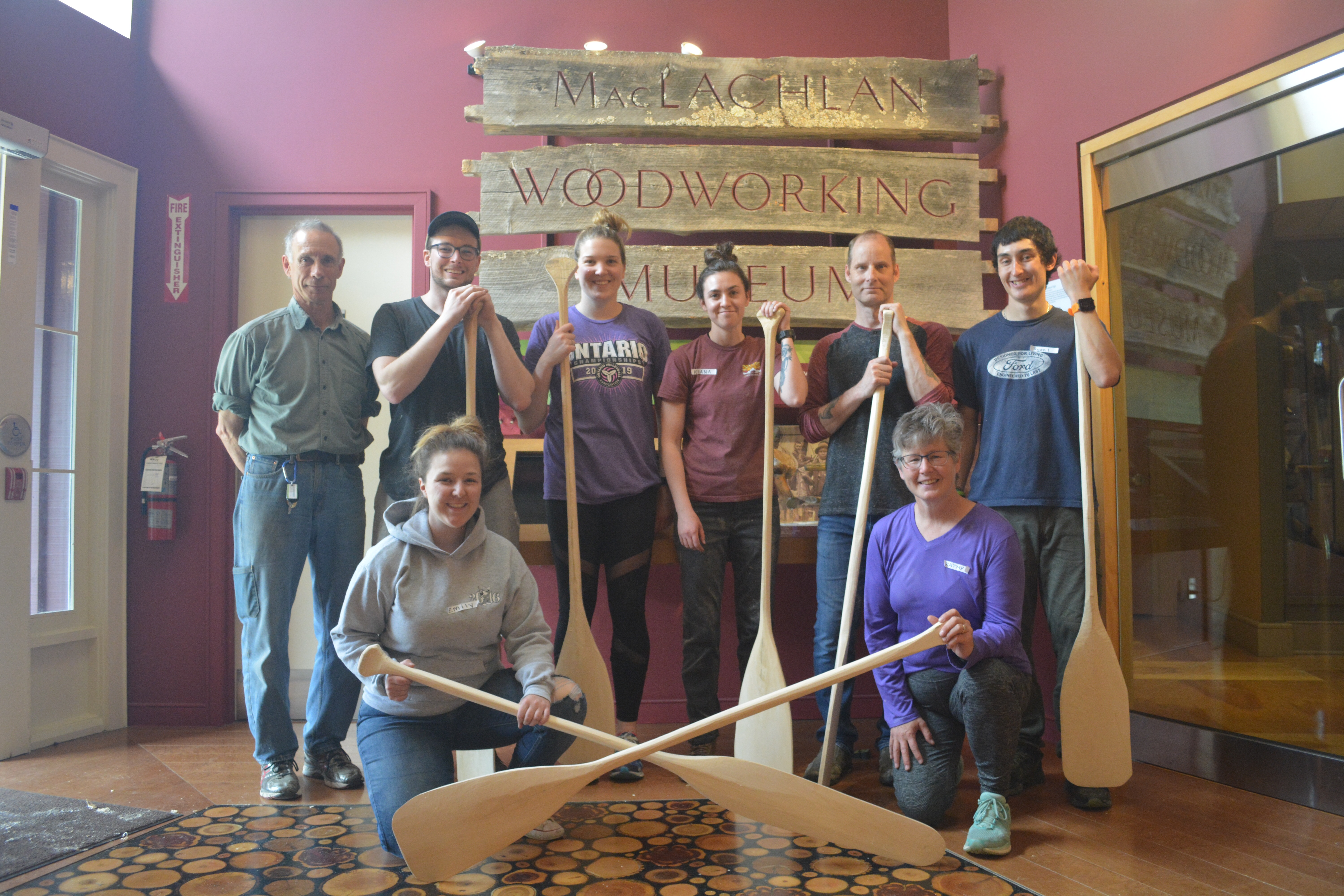 Make your own paddle workshop