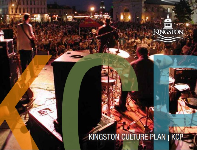 Cover image of Kingston Culture Plan