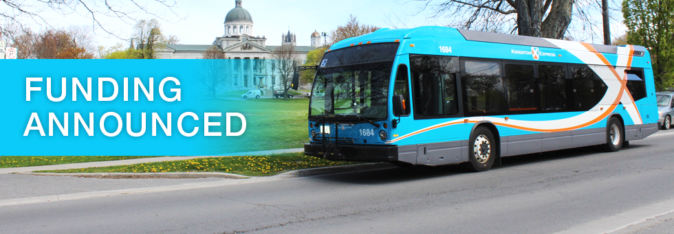 Transit Funding Announced