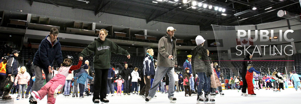 Skating at the K-Rock Centre